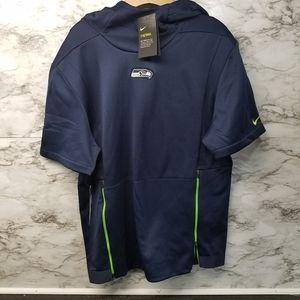 Nike Seattle Seahawks Sweatshirt Hooded Therma 90$
